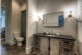 Tilting Bathroom Mirror Traditional 3 4 Bathroom With Wall Sconce Undermount Sink In