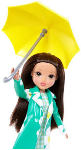 moxie girlz raincoat color splash doll sophina dolls la dee