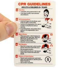 cpr certification wallet card adults u0026 children 8 years sku