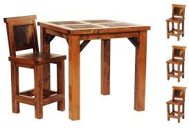 rustic pub table and chairs rustic pub tables sets counter height rustic pub table set set of 3