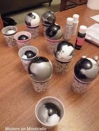 diy marbled ornaments hometalk