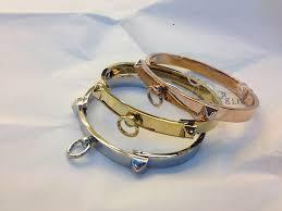 rose gold white gold bracelet images Hermes collier de chien bracelet yellow gold white gold rose jpg