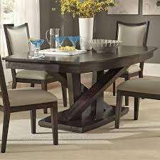 pedestal dining room table liberty furniture southpark contemporary rectangle pedestal dining