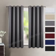 Gray Blackout Curtains Kitchen Gray Blackout Curtains And Drapes Nicetown Window