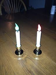 changing color led window candle 3 steps