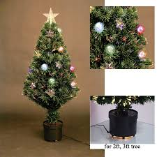 led fibre optic christmas tree various design lightings pre lit