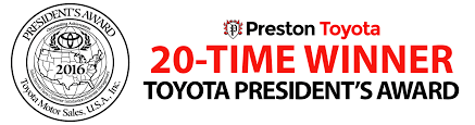toyota corolla logo toyota president u0027s award winner preston toyota of new castle