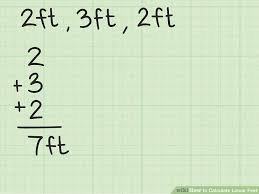 Feet In Meter 4 Easy Ways To Calculate Linear Feet Wikihow