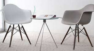 White Arm Chairs Eames Style Daw Molded Black Plastic Accent Arm Chair With White