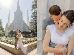 wedding photography portland portland oregon temple wedding photographer and