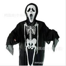 Halloween Batman Costumes Human Skeleton Ghost Clothes Halloween Costume Masquerade Party