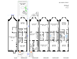 Brooklyn Brownstone Floor Plans Corcoran 281 Henry Street Brooklyn Heights Real Estate Brooklyn
