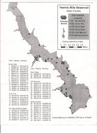 Michigan Dnr Lake Maps by Three Mile Recreational Area Union Ia