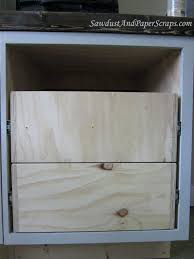 Installing Cabinets In Kitchen Installing Drawers In Kitchen Cabinets Image Of How To Install
