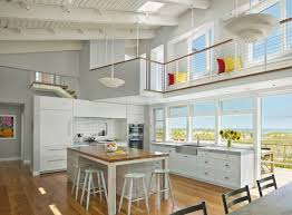 kitchen island with 4 chairs glosy gray cabinets and island 4 bar stools sliding glass door