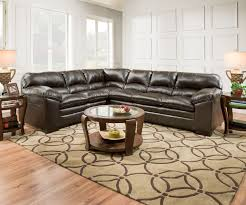 Brown Sectional Sofas Furniture Simmons Sectional Big Lots Simmons Sectional