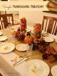 simple thanksgiving tablescape i dig