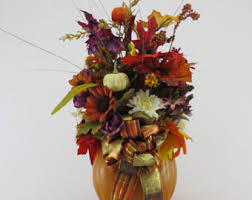 Fall Floral Decorations - fall floral arrangements table swags thanksgiving