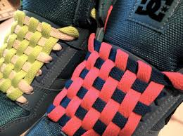 shoelace pattern for vans how to checkerboard lace your shoes with no bow youtube