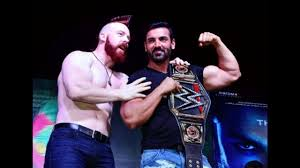sheamus vs john abraham force 2 movie promotion by with wwe star