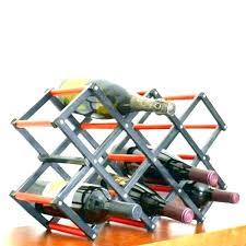 collapsible wine rack u2013 rebekka me