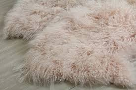 Sheepskin Runner Rug Stylish And Luxurious Tibetan Mongolian Sheepskin Floor Runner