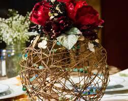 Grapevine Floral Design Home Decor The Flower Centerpieces Etsy