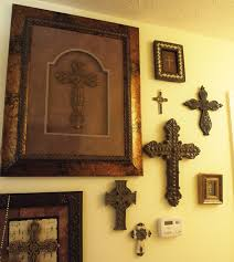 crosses home decor photos hgtv contemporary hallway with vibrant wall art arafen