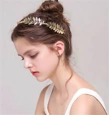 gold leaf headband gold leaf headband metal women hair accessories wedding