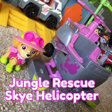 jungle rescue skye takes skies paw patrol toy