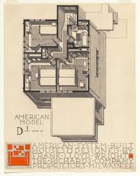 Frank Lloyd Wright House Floor Plans by Moma Opens