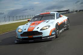 gulf car 2012 aston martin gulf vantage gte at the track eurocar news