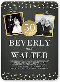 50 wedding anniversary 50th wedding anniversary party ideas shutterfly