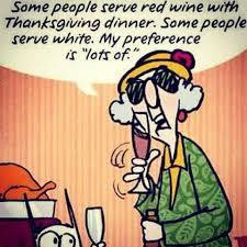 status thanksgiving dinner wine quote