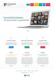computer repair templates cmsgadget com free and premium