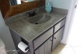 Concrete Vanity Bathroom Vanity Remodel Concrete Vanity Sources Designer Trapped