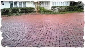 Herringbone Brick Patio Driveways Photo Gallery Clay Brick Pavers Travertine