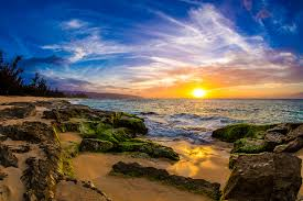 Hawaii scenery images Photo hawaii usa sun ocean nature sky scenery sunrises and sunsets jpg