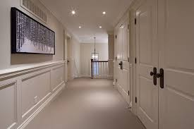 hallway paint colors traditional with beige carpet strippable
