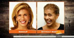 what does hoda kotb use on her hair today show hosts with no makeup business insider