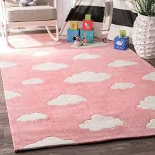 Pink Runner Rug Nuloom Handmade Modern Clouds Nursery Pink Runner Rug 2 6 X