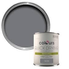 colours grey slate eggshell wood u0026 metal paint 750 ml