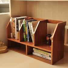 Desktop Bookshelf Ikea Simple Wood Table Small Bookcase Bookcase Shelving Office Desktop