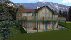 Bedroom House Plans With Walkout Basement Design Compact Home Plans Donald Gardner Walkout Basement Plans