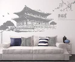 aliexpress com buy gyeongbokgung palace decal landmark korea