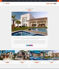Real Estate Html Template archblog u2013 architecture portfolio and blog html template modern