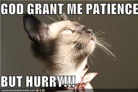 Lord Help Me Meme - god grant me patience but hurry patience lord and christian humor