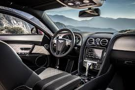 bentley interior 2017 2017 bentley flying spur w12 s is 202 mph luxury exotic car list