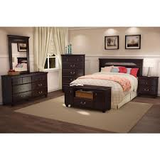 south shore noble 5 drawer dark mahogany chest 3516035 the home