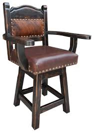 Swivel Bar Stool With Arms Brilliant Counter Stools With Arms Texas Western Bar Stool Arms